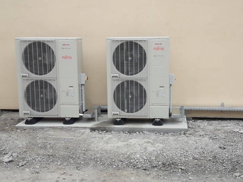 Climatisation à détente directe